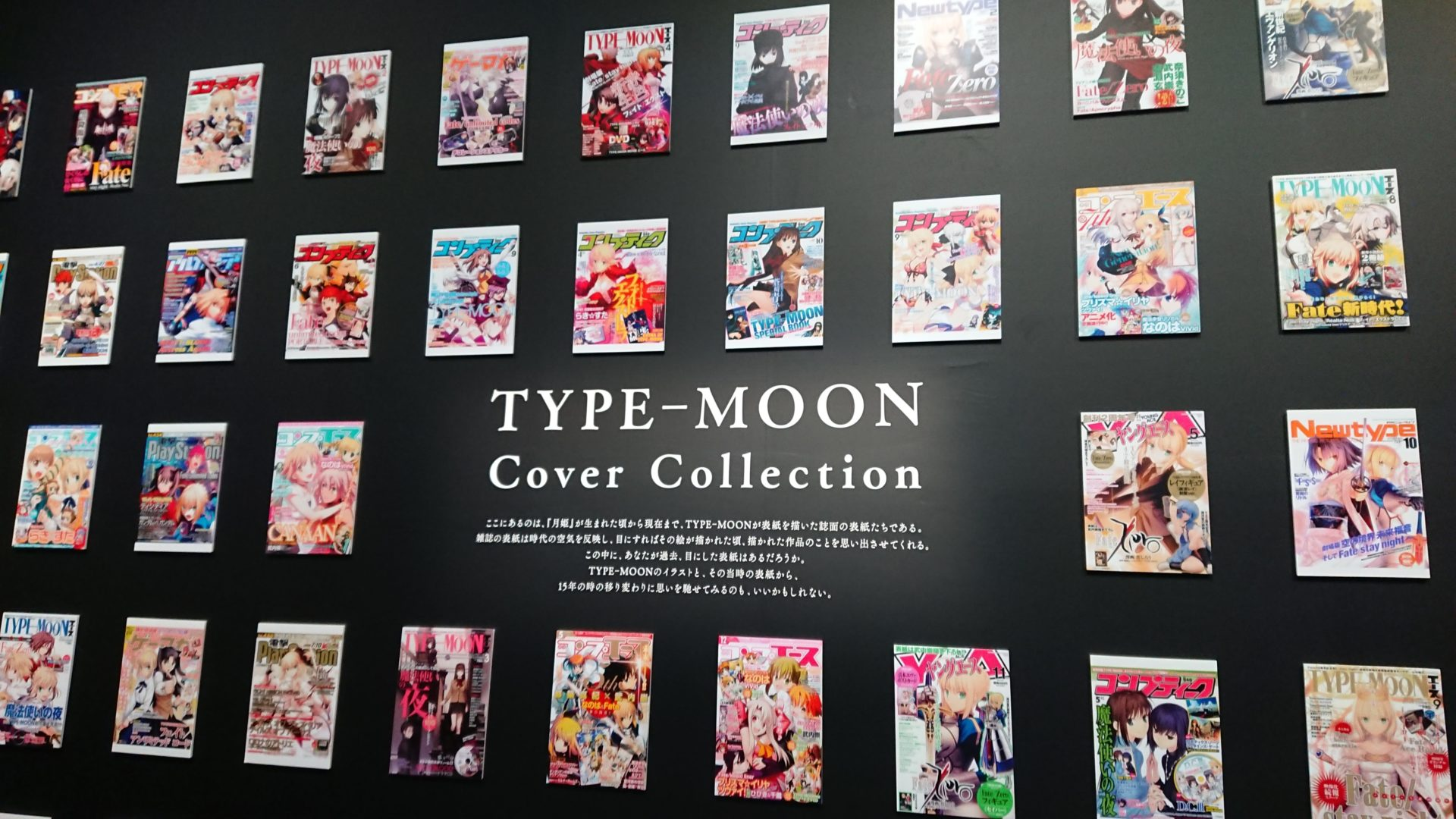 TYPE-MOON展,Fate
